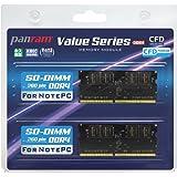 CFD販売 ノートPC用メモリ PC4-17000(DDR4-2133) 8GB×2枚 260pin DIMM (無期限保証)(Panramシリーズ) W4N2133PS-8G