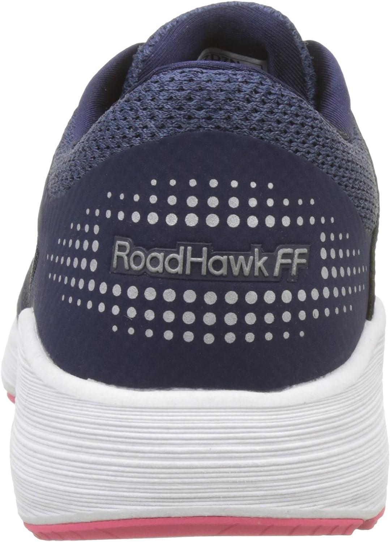 ASICS Roadhawk FF, Scarpe da Ginnastica Donna Blu Insignia Blue Silver Rouge Red