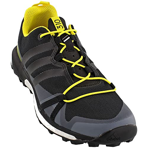 adidas outdoor Men s Terrex Agravic Dark Grey Black Bright Yellow 11.5 D US