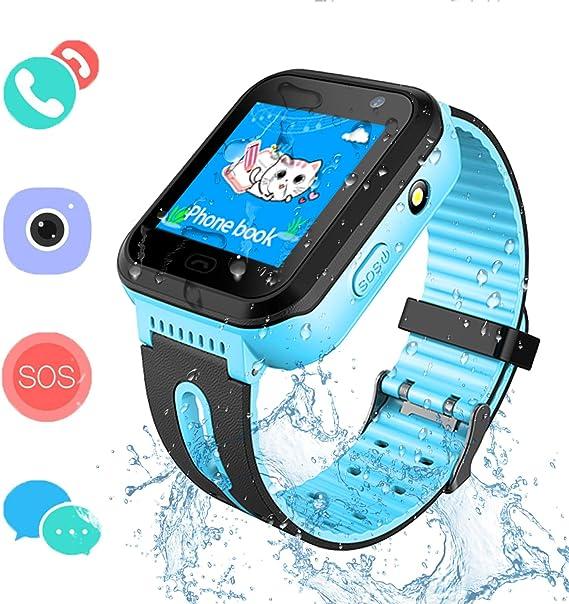 Amazon.com: SZBXD Kids Waterproof Smartwatch GPS/LBS Tracker ...