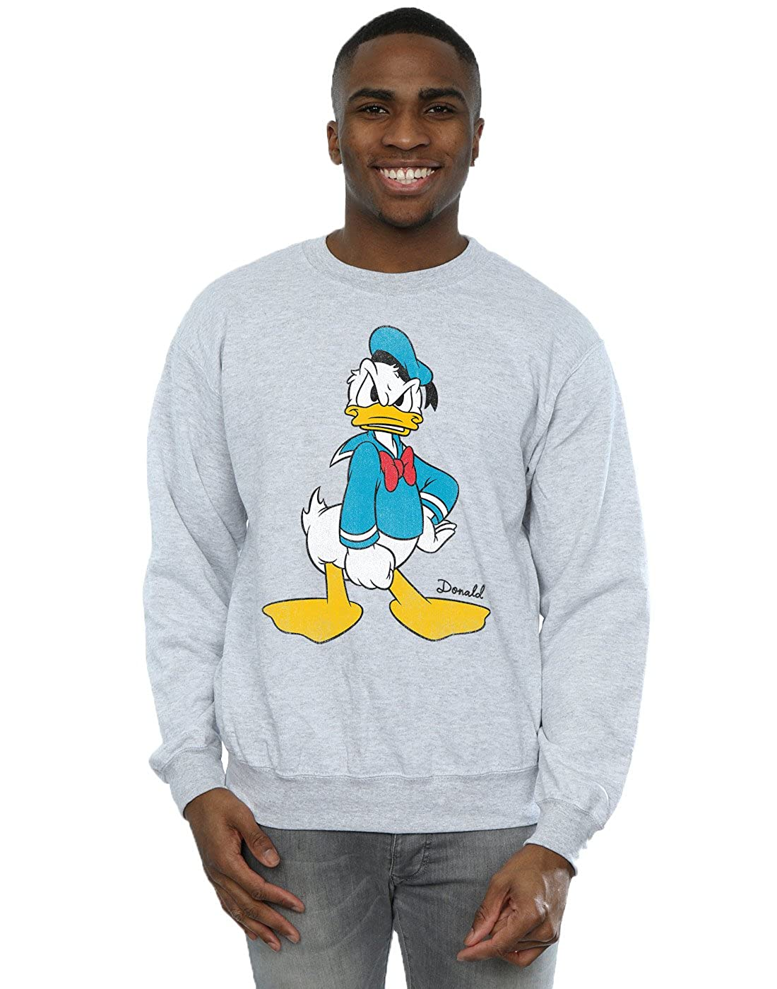 Disney hombre Donald Angry Angry Camisa De Entrenamiento