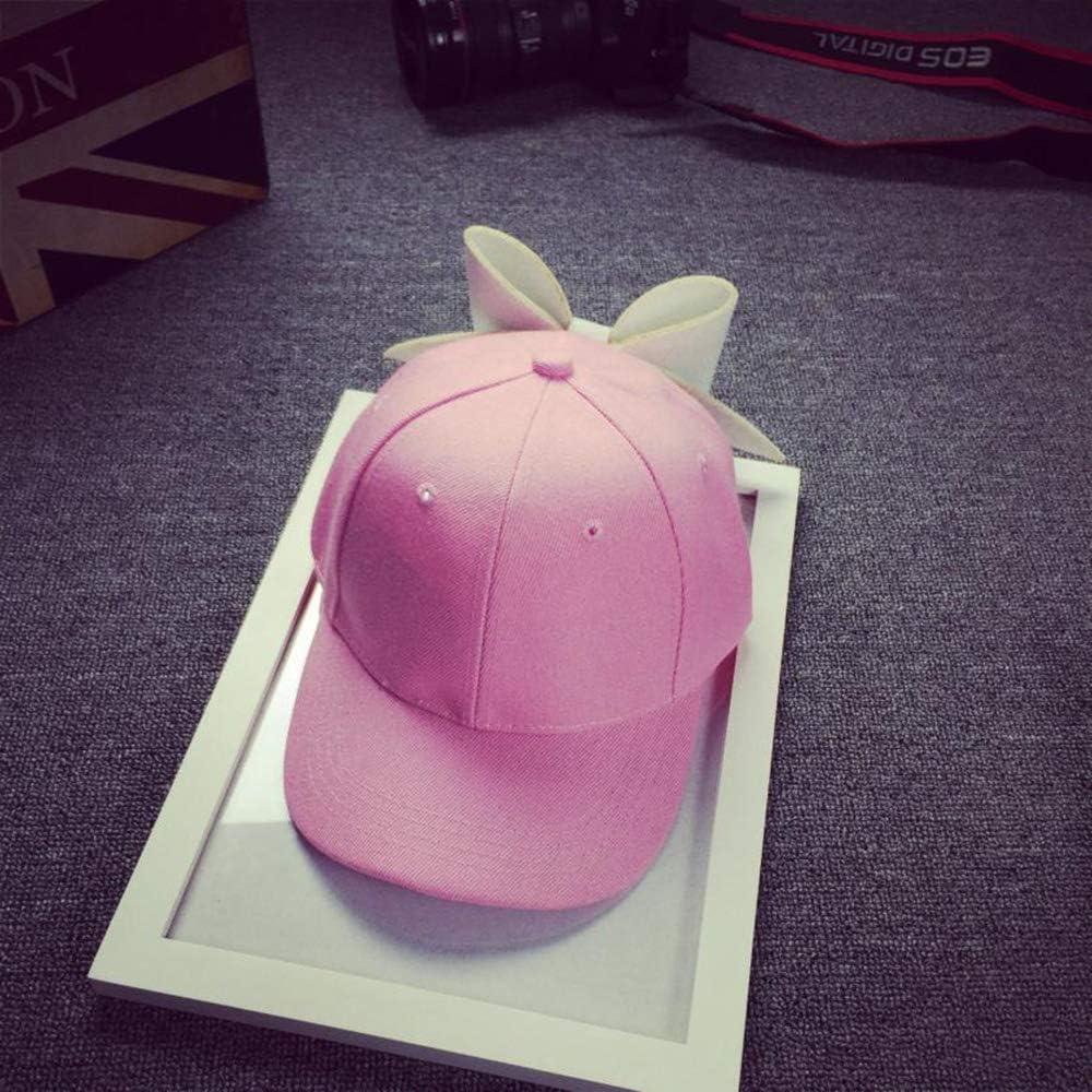 ofndd66 Adjustable Hip-Hop Solid Color Girl Snapback Cap Fashion Style Caps