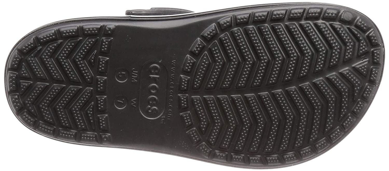 Crocs Womens Crocband Platform Metallic Blooms Clog 205700-001