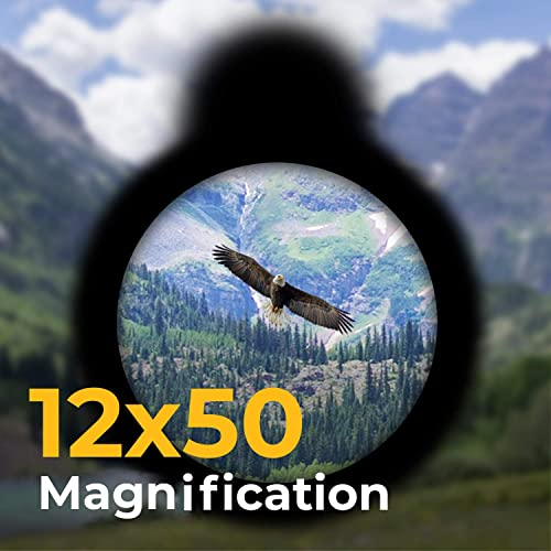 Wingspan Optics Explorer High Powered 12x Magnification