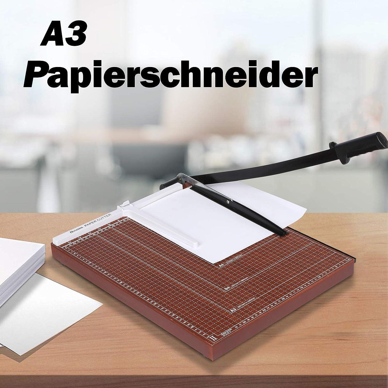 A3 Papierschneider Schneidemaschine Hebelschneider Schneideger/ät Fotoschneider Schrottmaschine Papier Foto Holz