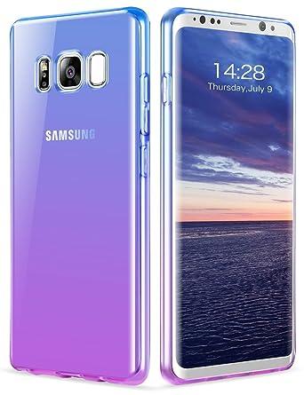 Amazon.com: Carcasa para Galaxy S8, GeekZone Gardual ...