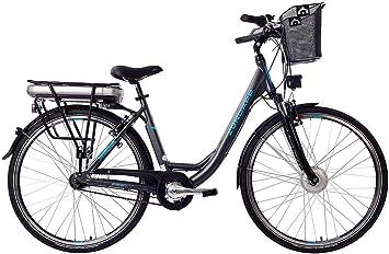 ZÜNDAPP E-Bike – Bicicleta eléctrica para mujer, aluminio, con 7 ...