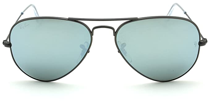 31588241c6b Image Unavailable. Image not available for. Color  Ray-Ban RB3025 Aviator  Flash Lens Unisex Sunglasses ...