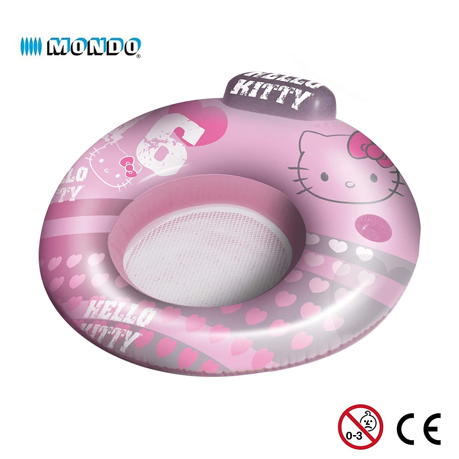 Silla hinchable reposacabezas 2 en 1 Hello Kitty 104 cm flotante ...
