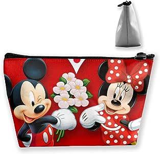JINUNNU - Neceser de Maquillaje, diseño de Mickey Mouse y Minnie Love: Amazon.es: Hogar