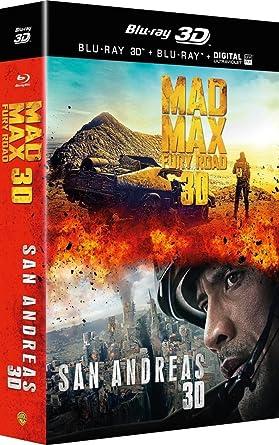 San Andreas + Mad Max : Fury Road [Francia] [Blu-ray]: Amazon.es ...
