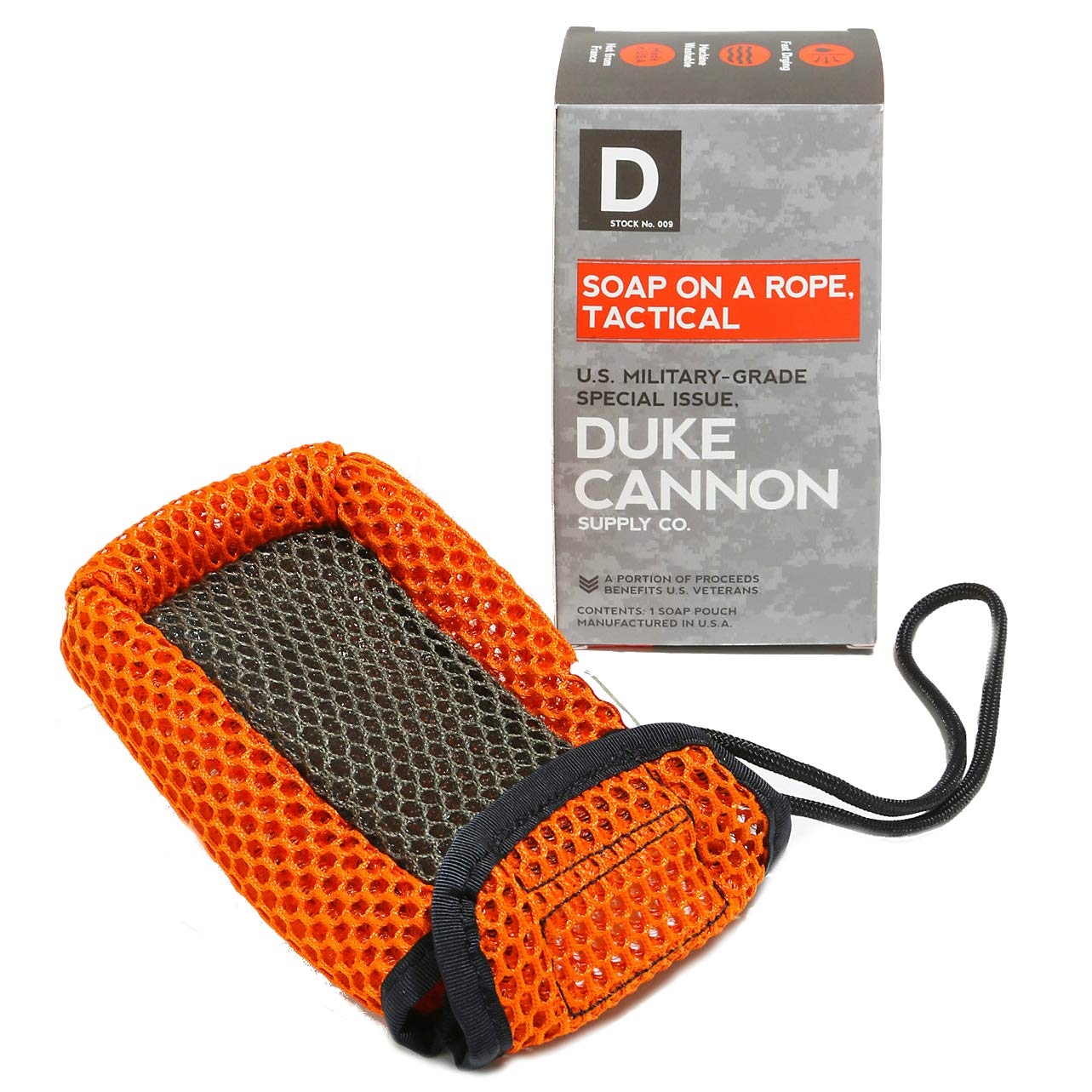 Duke Cannon Tactical Soap On a Rope Pouch TACTICAL6