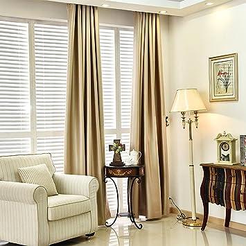 Moderne Vorhänge amazon de feste farben blackout vorhänge für das schlafzimmer faux