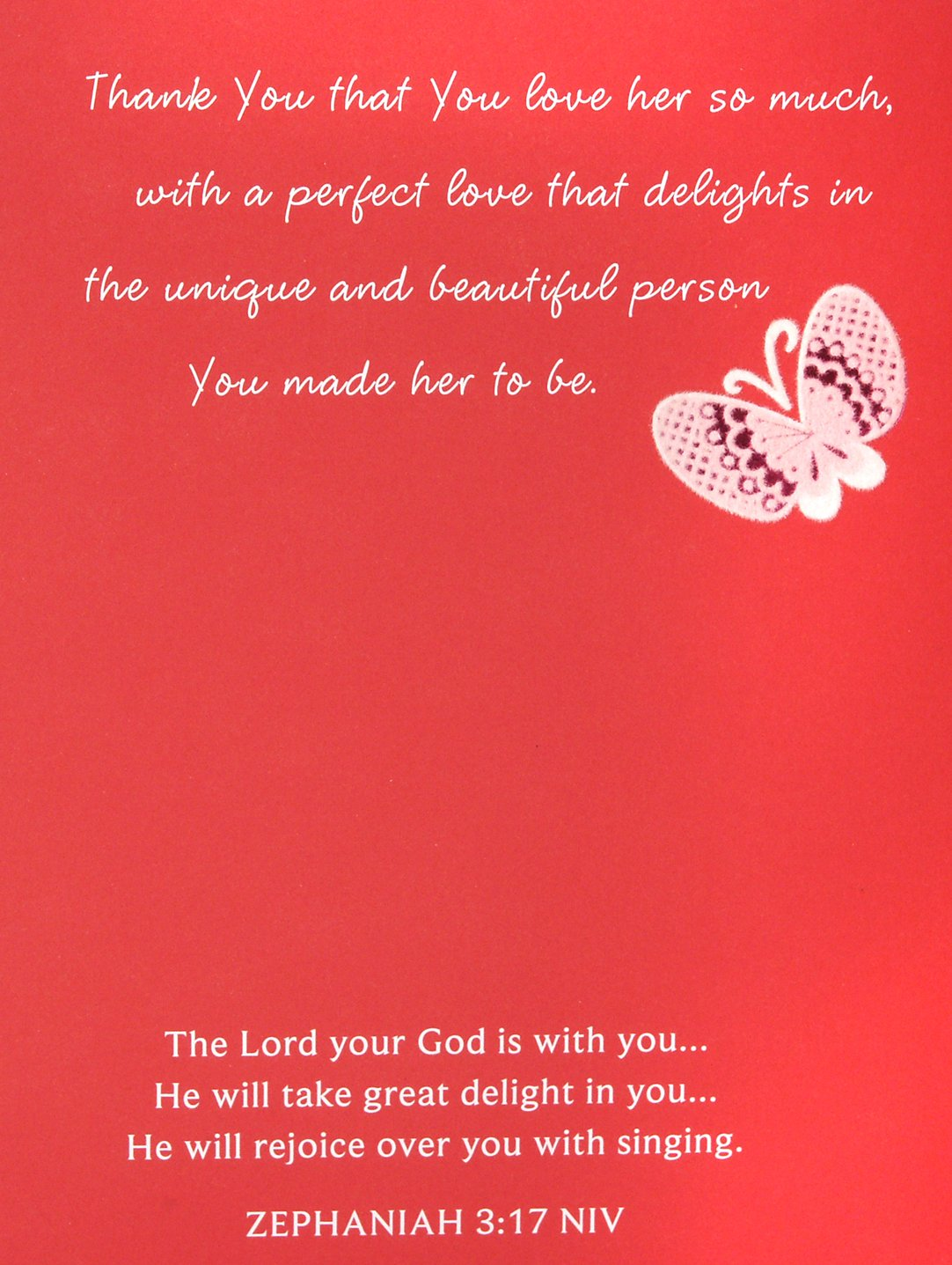 Amazon Dayspring Religious Valentines Day Greeting Card For