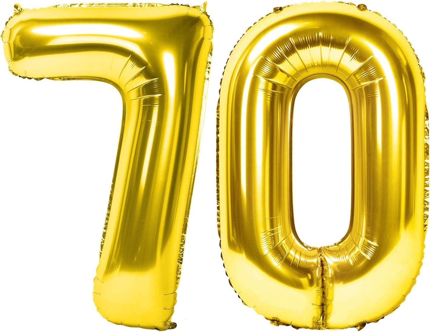 Siumir Numero Palloncino dArgento Foil Palloncino Numero 10 Gigante Palloncino Digitali Decorazione Festa di Compleanno