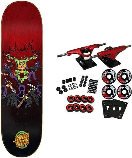 Santa Cruz Skateboard Complete Teenage Mutant Ninja Turtles Raphael 8.25