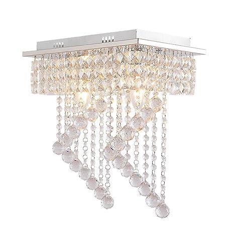 Lámpara Techo Lámpara de Araña de Cristal Moderna ...