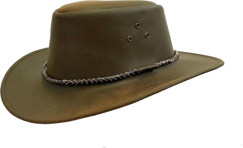 Kakadu Leather hat for Kids Children Leather hat KTA