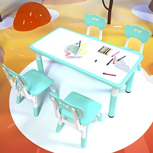 Children's Study Table and Chair Set