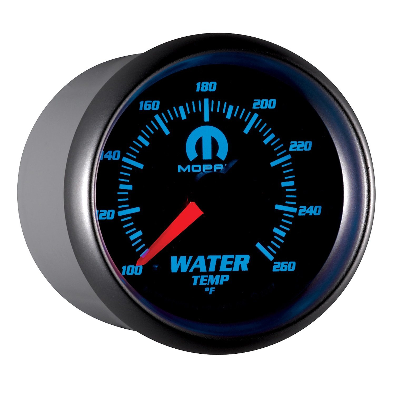 Auto Meter 880018 MOPAR Electric Water Temperature Gauge