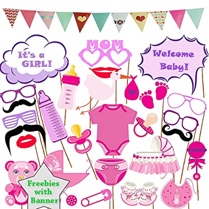 Amazon Baby Shower Photo Booth Prop Party Banner Bunting