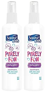 Suave Kids Detangler, Purely Fun, 10 Ounce (Pack of 2)
