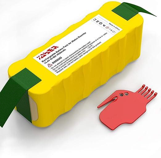 YABER Batería para iRobot Roomba 4500mAh Ni-MH Bateria Compatible ...
