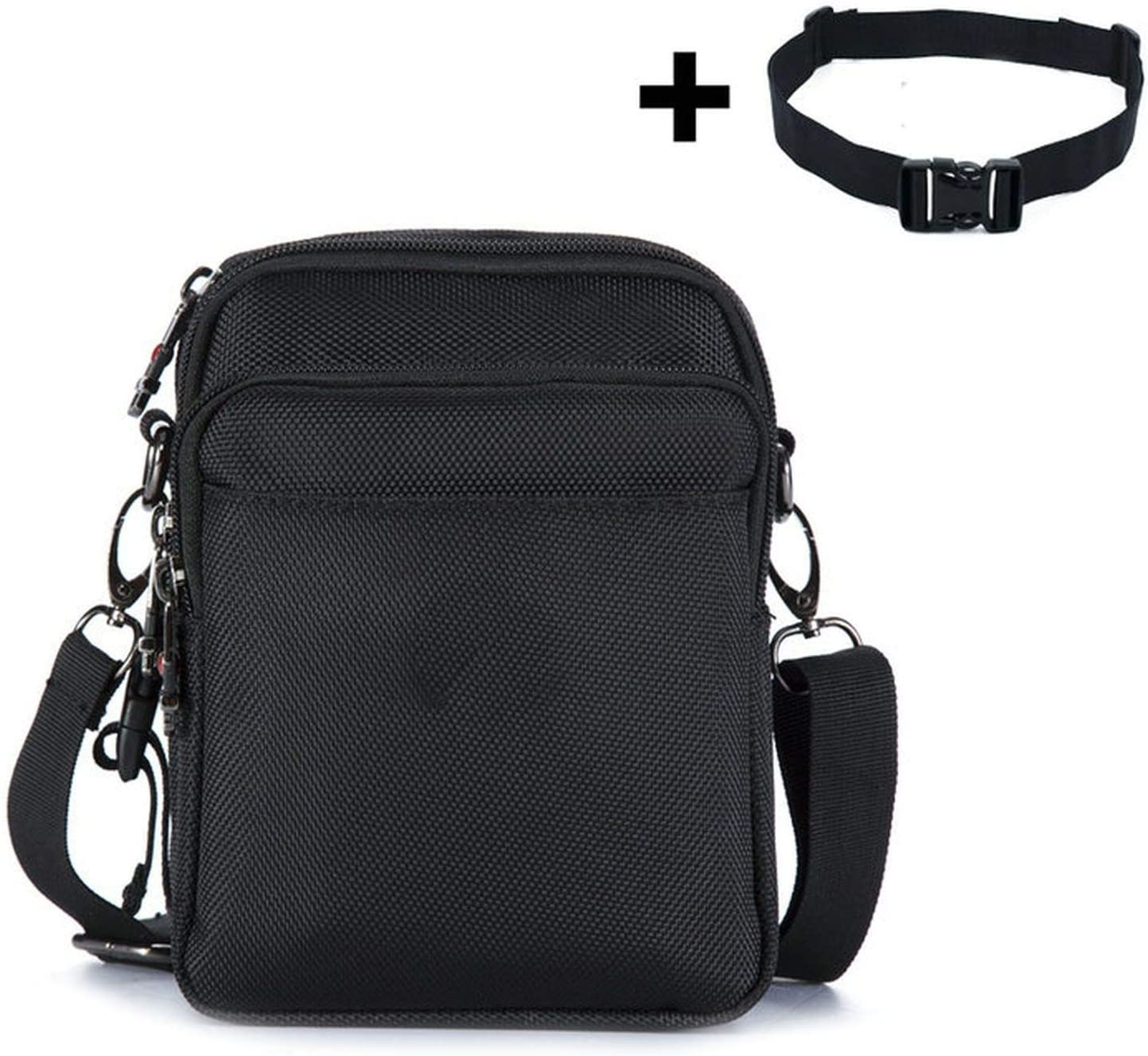 Mens Messenger Bag Waterproof Men Belt Bag Zipper Bag,New Size
