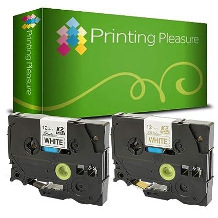 Printing Pleasure 2 Casetes TZe-R231 TZe-R234 Cinta textil ...