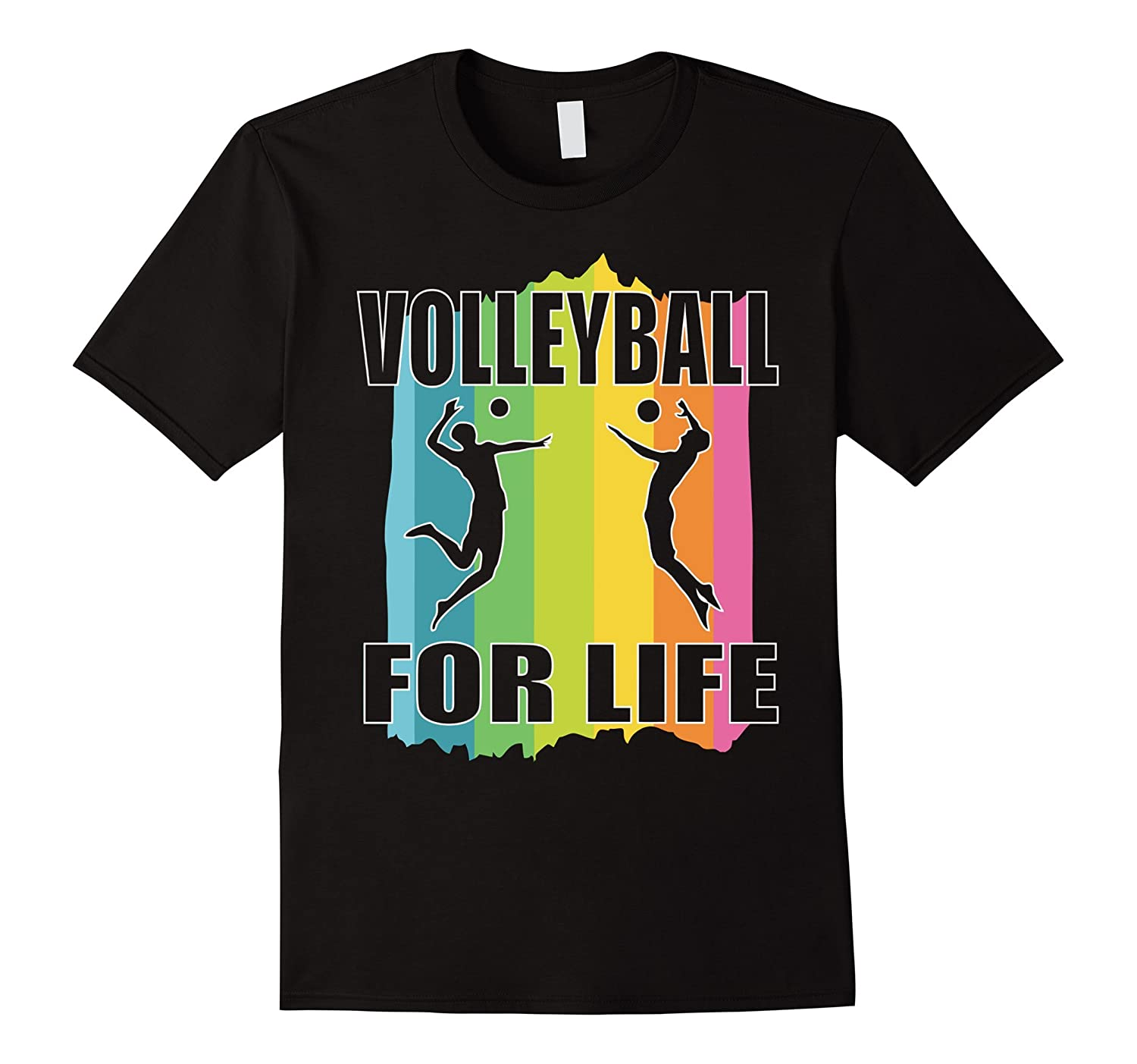 Volleyball For Life T-shirt - Gift For Volleyball Fans-TH
