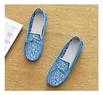 b0ccd2b3868 WULIFANG Las Niñas Wild Microfibra Bow Diamond Embellecedor Metálico  Superficial Soft Cuadrado Inferior Guisantes Zapatos Cómodos 44 Color  Albaricoque: ...