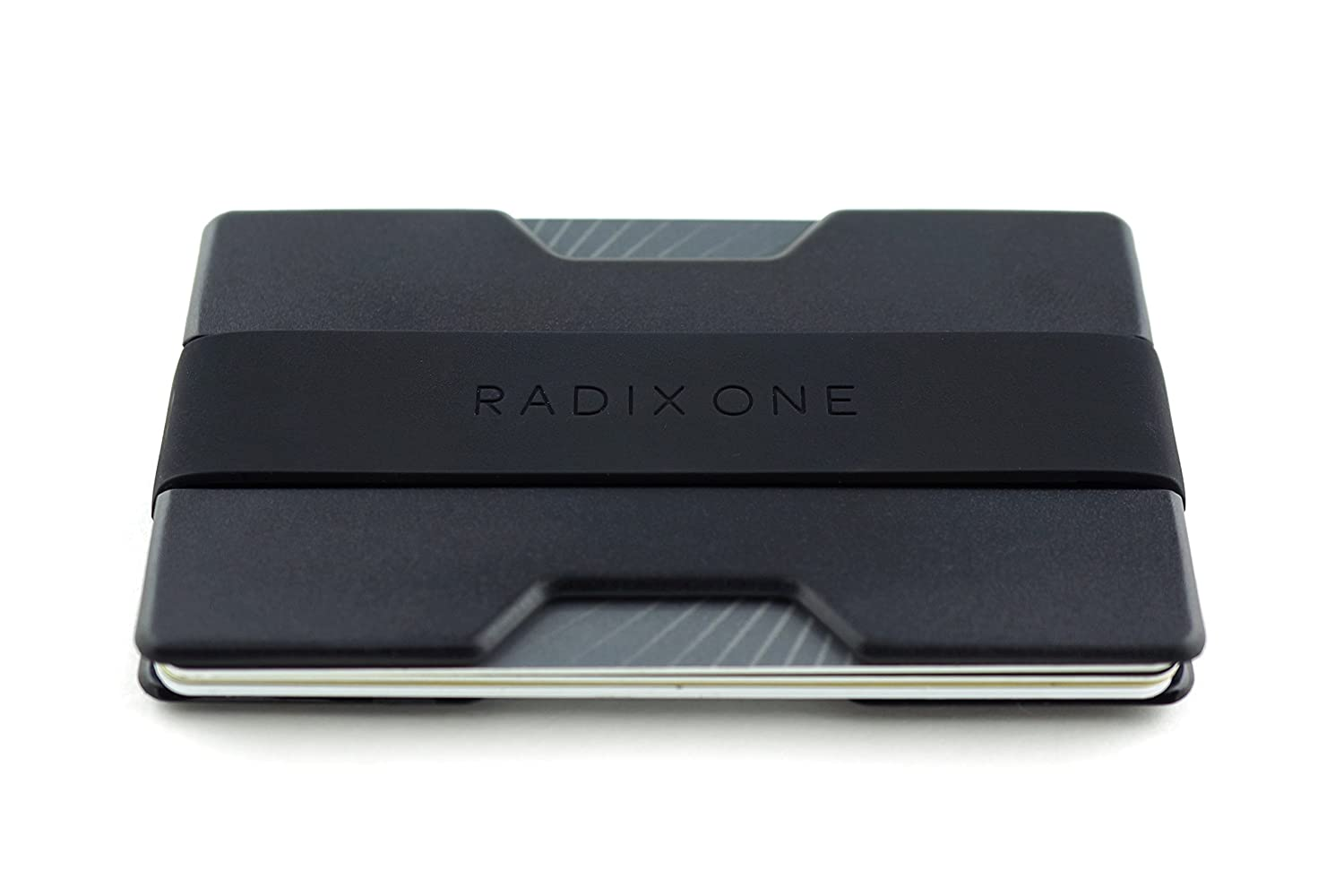 Radix One Slim Wallet (Smoke/Black) Radix Products RDX001SB