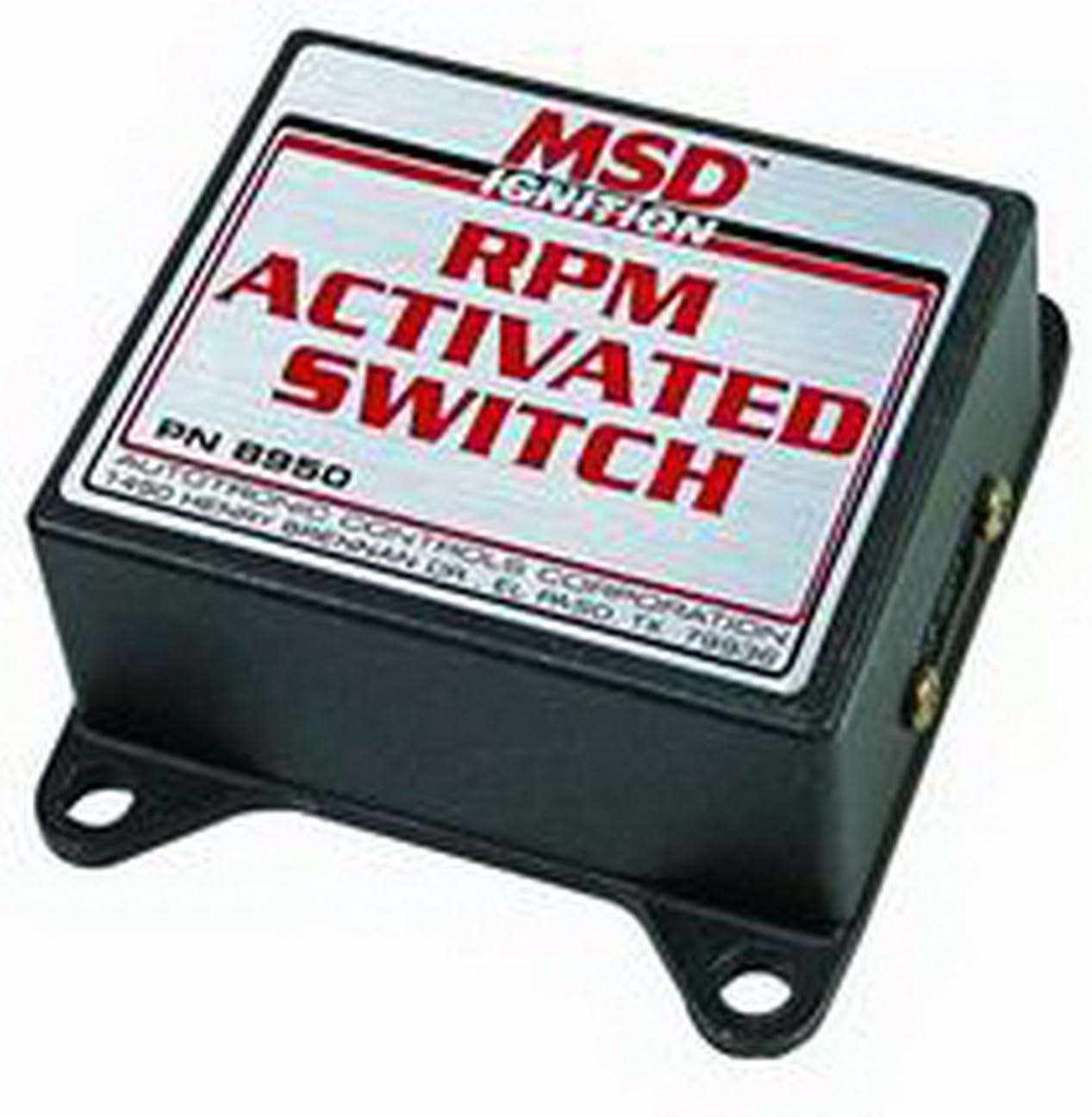 msd rpm switch wiring diagram amazon com msd 8950 rpm activated switch automotive  msd 8950 rpm activated switch