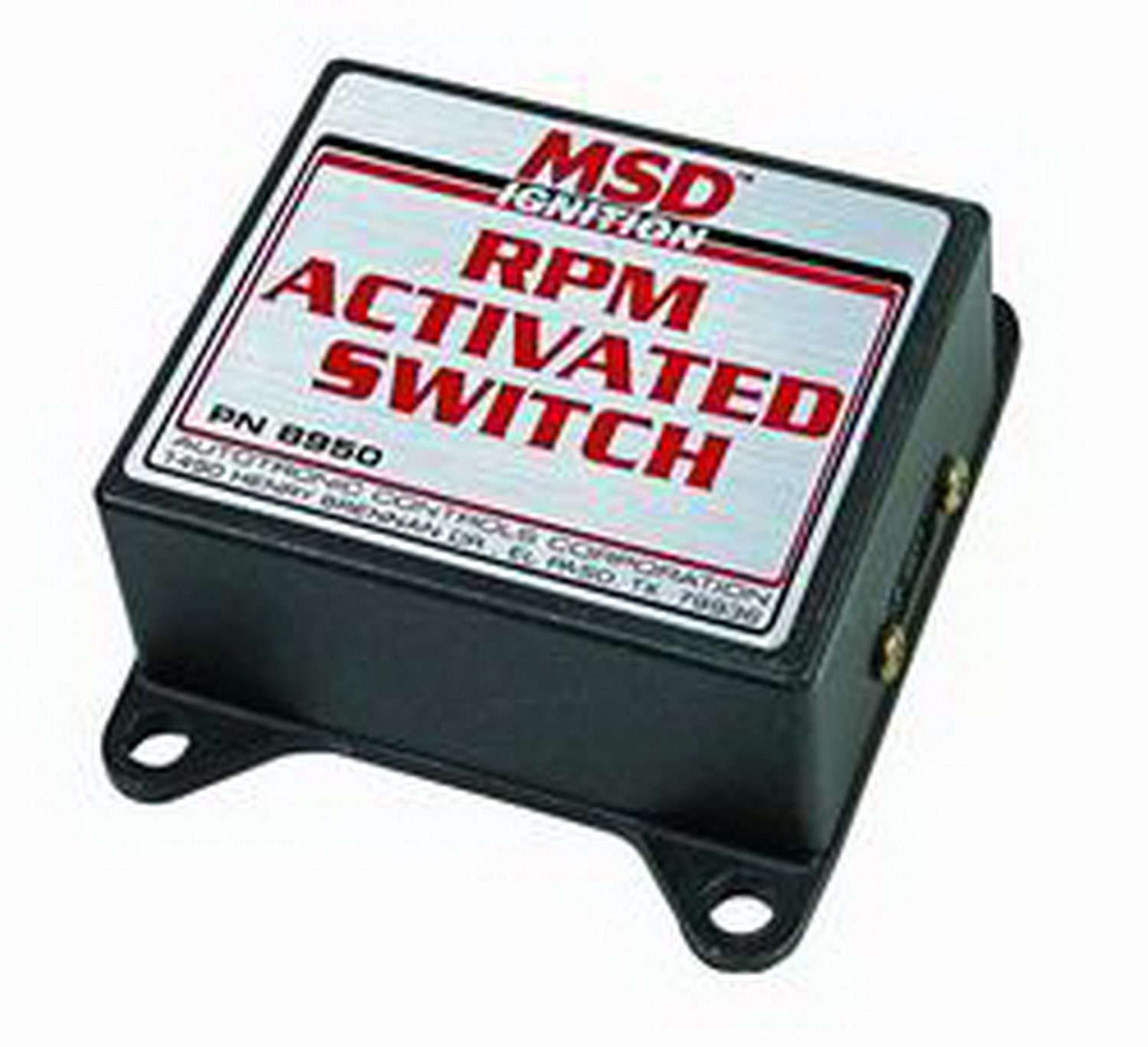 Wiring Diagram Msd 8950 Wire Center 8739 Amazon Com Rpm Activated Switch Automotive Rh 5200 Pn