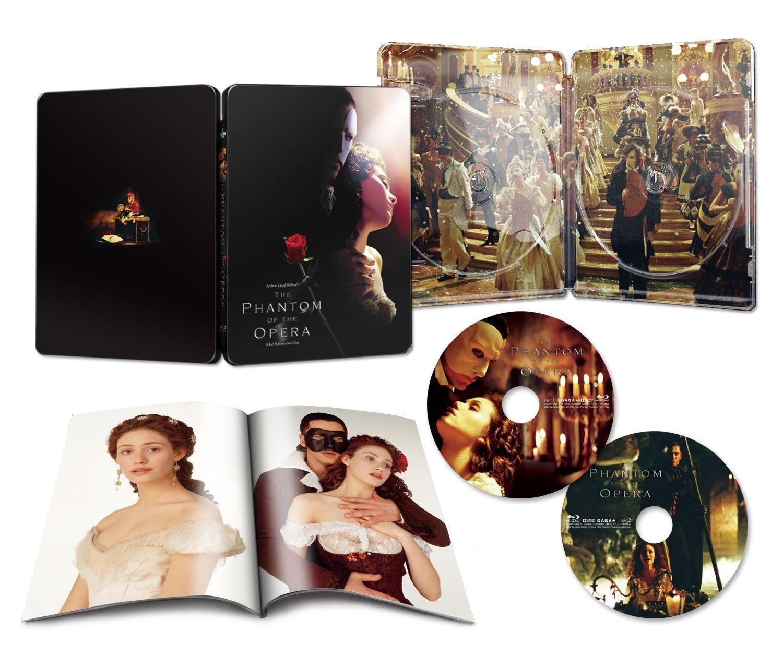 The Phantom of the Opera Blu-ray Steelbook [Import Japan]