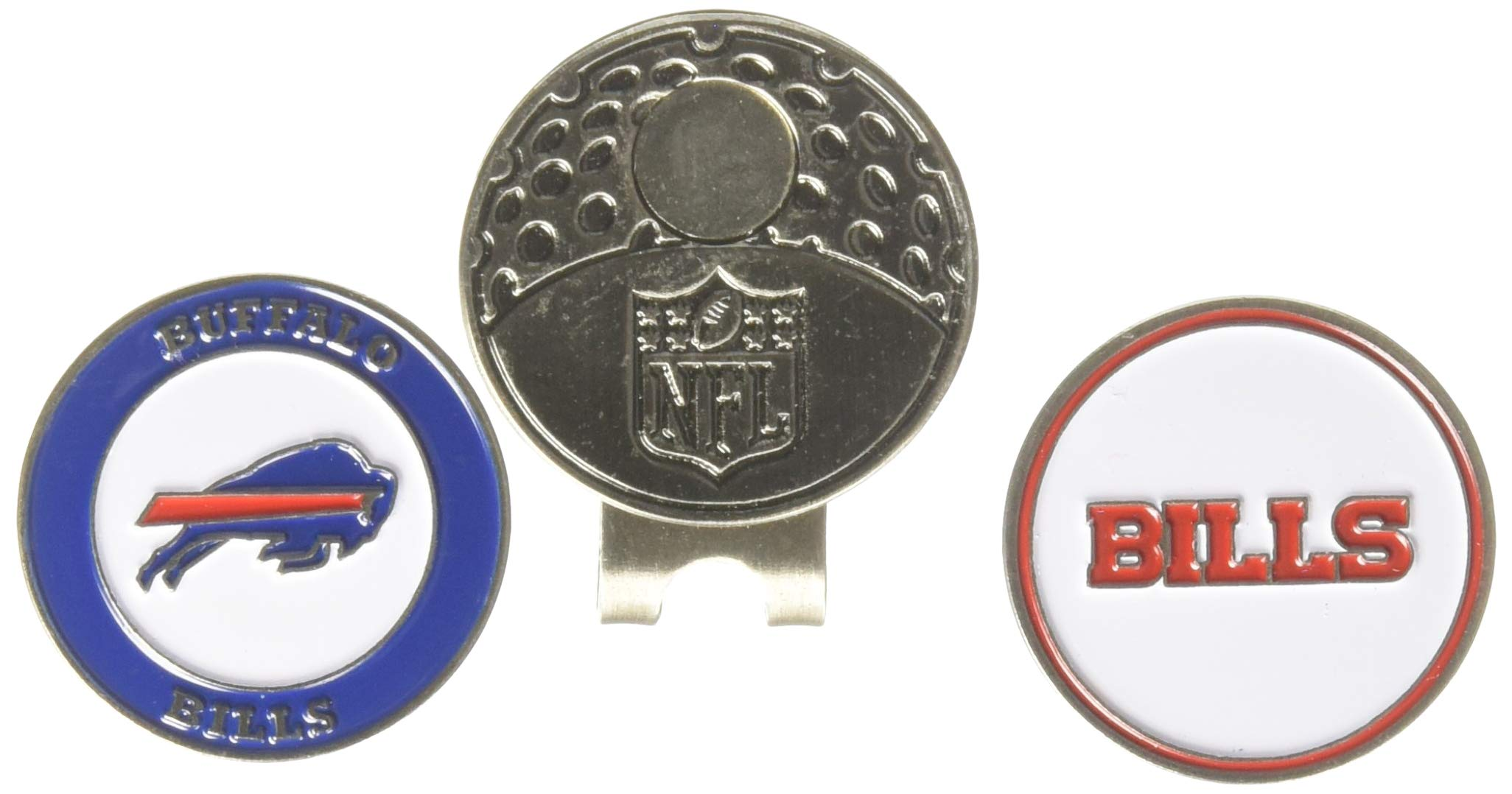 2db824e8960 Team Golf NFL Golf Cap Clip with 2 Removable Double-Sided Enamel Magnetic  Ball Markers