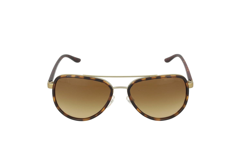 0e41fcacb9 Michael Kors Women s Gradient Playa Norte MK5006-10342L-57 Tortoiseshell  Aviator Sunglasses  Michael Kors  Amazon.ca  Clothing   Accessories