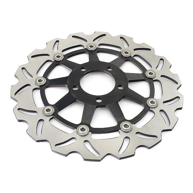 TARAZON Rotores de discos de freno delanteros para Kawasaki ...