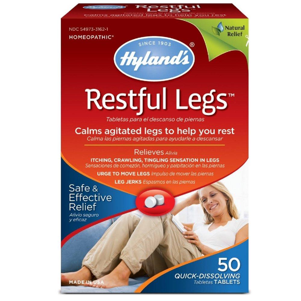 Hyland's Restful Legs Tablets 50 ea (Pack Of 8)