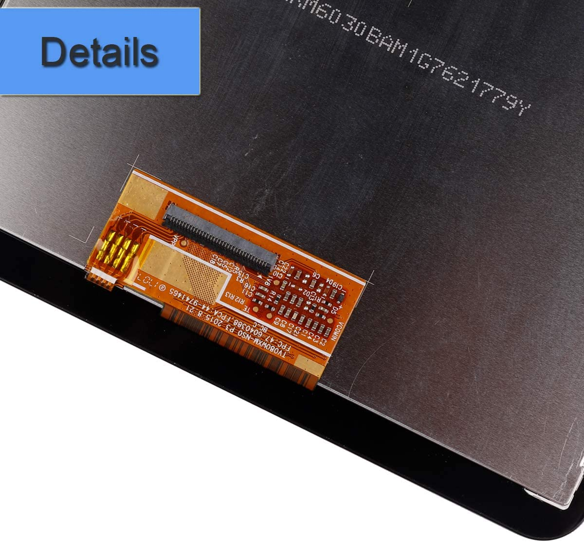 New Replacement LCD Screen Compatible with Samsung Galaxy Tab A 8.0 2018 SM-T387A SM-T387 T387T LCD Touch Screen Display Assembly with Tools