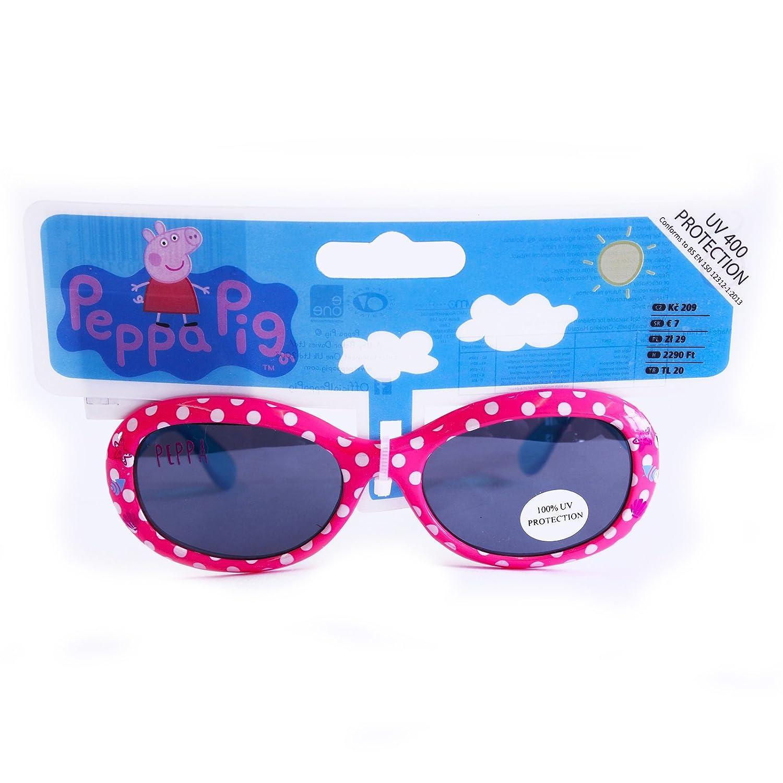 PEPPA PIG Sonnenbrille UV 400 Kinder Mädchen NEU