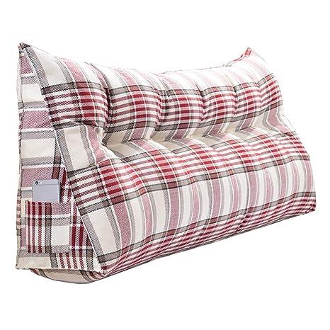 Amazon.com: Cojines triangulares para la espalda de la cama ...