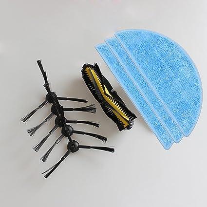 reyee limpieza MOP cloth1 & aspiradora cepillo y cepillo lateral Kit ...