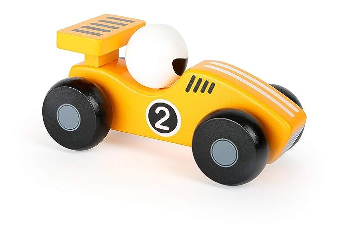 Legler - The Yellow Dasher Toy Car