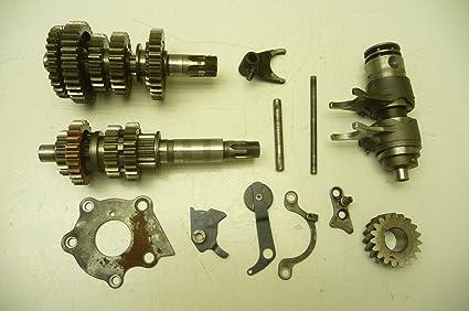 Amazon com: Suzuki TS185 TS 185#6014 Transmission & Misc Gears/Shift