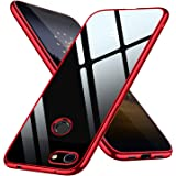 Google Pixel 3a XL ケース クリア tpu 透明 薄型 シリコン 耐衝撃 ストラップホール付きスリム 軽量 人気 Pixel3a XL カバー 赤