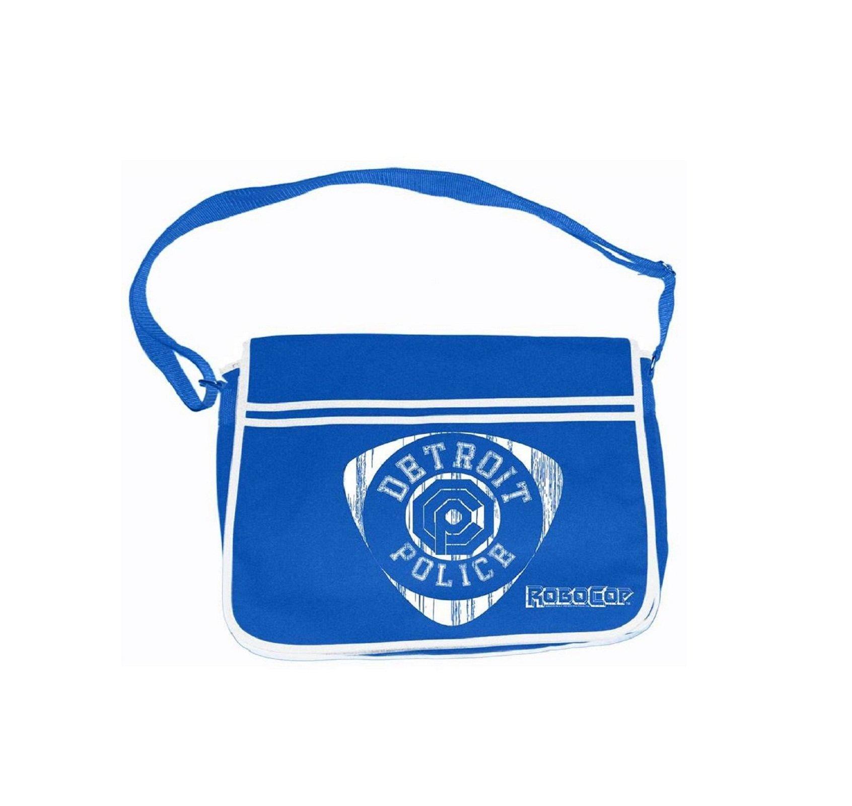 Robocop Detroit Police Official Blue Messenger Bag
