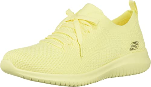 anfitriona Energizar cocina  Skechers Women's Ultra Flex- Pastel Party Sneakers, Yellow, 5 Regular US:  Amazon.ca: Shoes & Handbags