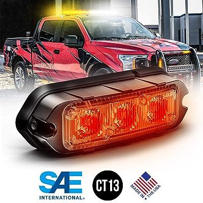 Feniex T3 Perimeter Mount LED (Red): Automotive