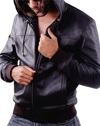 Leatherjacket4 Sty Mens Leather Jacket In Lamb Wash Leather At